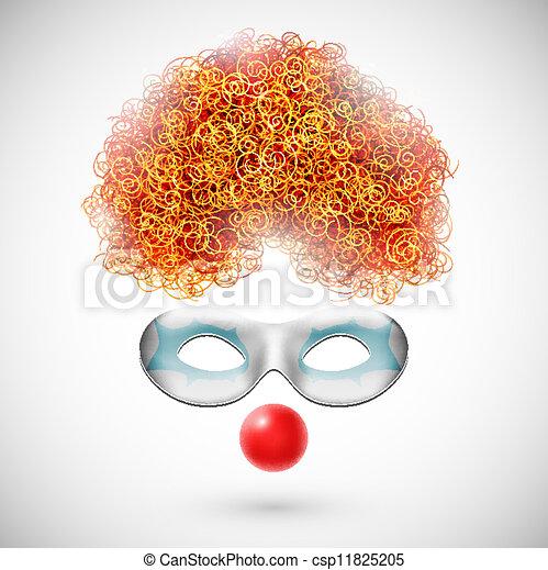 Accessories clown - csp11825205