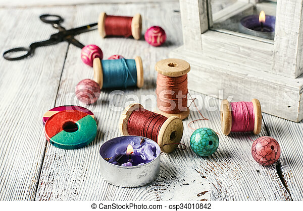 Accessories for home crafts - csp34010842