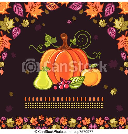 Diseño de Acción de Gracias 3 - csp7570977