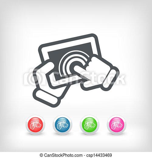 Un icono de acción - csp14433469