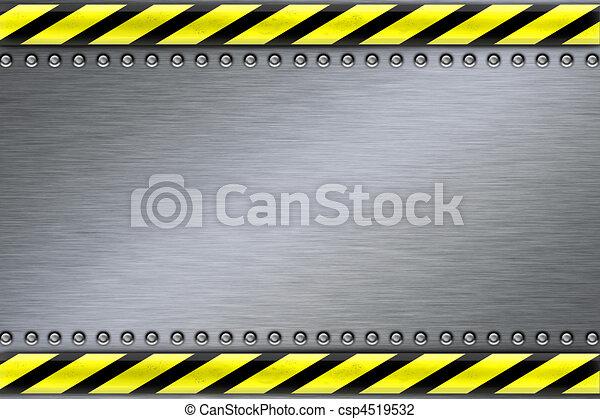 acciaio, fondo - csp4519532
