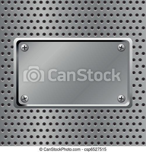 acciaio, fondo - csp6527515