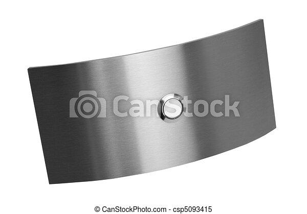acciaio, inossidabile, anello, campana - csp5093415