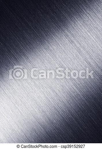 acciaio, piastra, metallo, fondo. - csp39152927