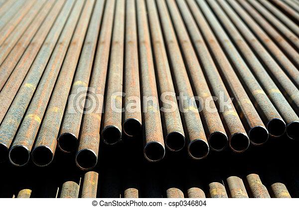 acciaio, pipe. - csp0346804