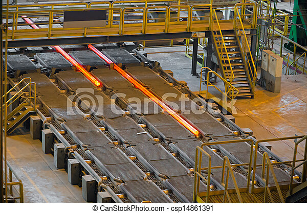 acciaio, rimbombante, mulino - csp14861391