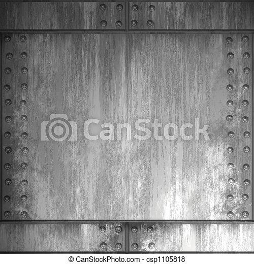 acciaio, rivettare - csp1105818