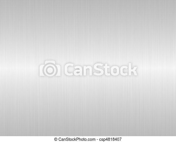acciaio, spazzolato, struttura - csp4818407