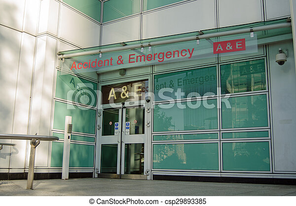 Accident and Emergency Entrance - csp29893385