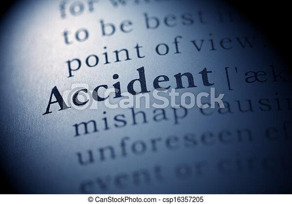 Accident - csp16357205
