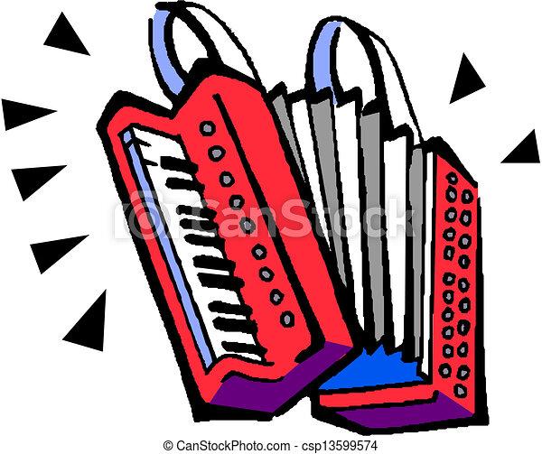 accordion illustration vectors illustration search clipart rh canstockphoto com accordion player clipart accordion clipart black and white