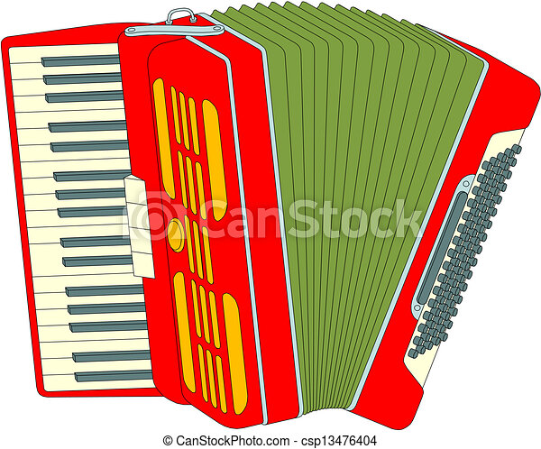accordion rh canstockphoto com accordion music clipart free clipart accordion player