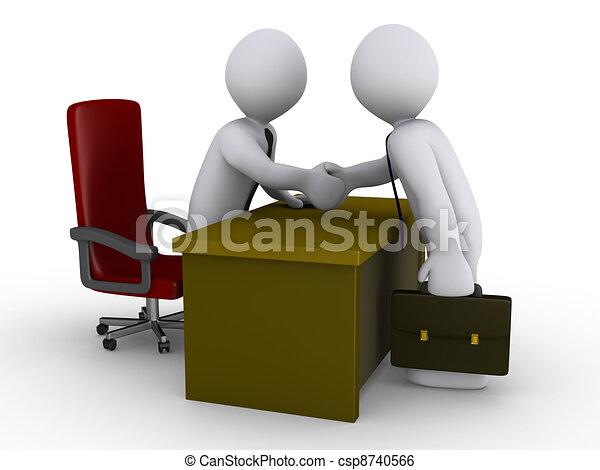 accordo, ufficio - csp8740566
