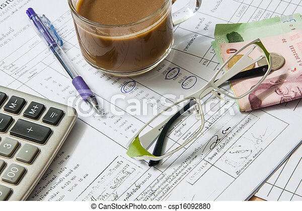 Accounting concept. - csp16092880