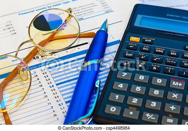 Accounting concept - csp4498984