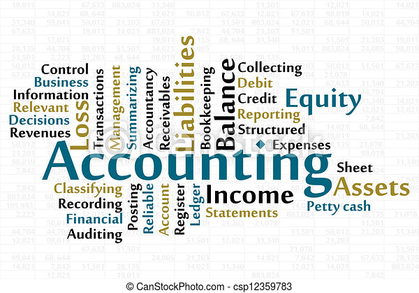Accounting - csp12359783