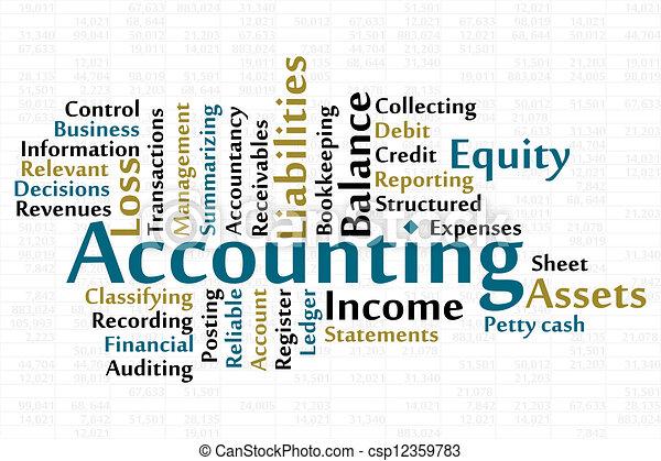 Accounting - csp12359783