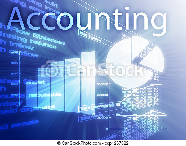 Accounting illustration - csp1267022