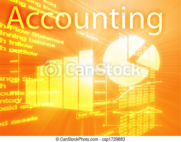 Accounting illustration - csp1729883