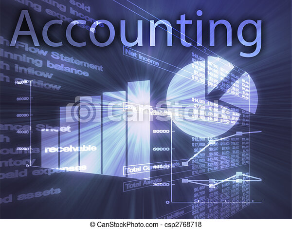 Accounting illustration - csp2768718