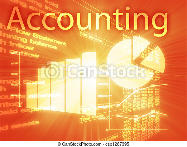 Accounting illustration - csp1267395