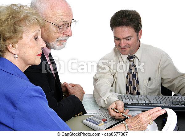 Accounting Series - Senior Finances - csp0577367