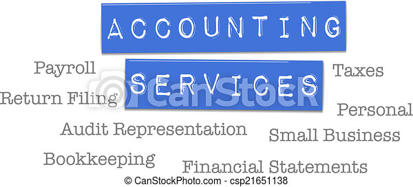 Accounting Services Tax CPA - csp21651138
