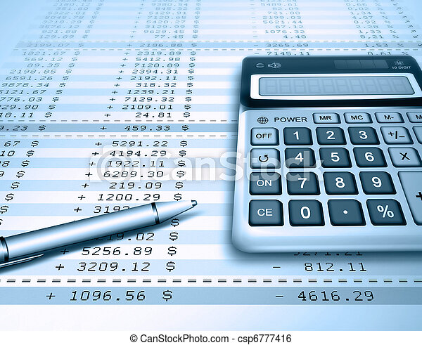 accounting - csp6777416