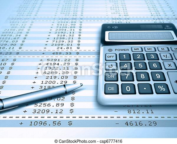 accounting - csp6777416