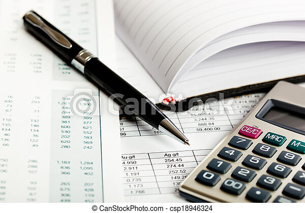 Accounting.  - csp18946324