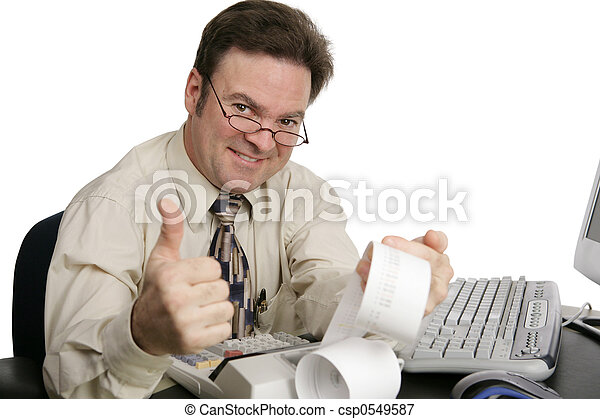 Accounting Thumbsup - csp0549587