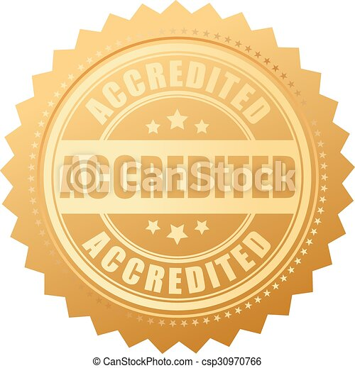 Accredited gold certificate - csp30970766