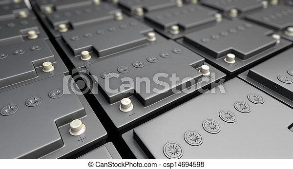 accumulator battery - csp14694598