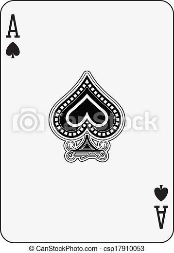 Ace of spade csp17910053