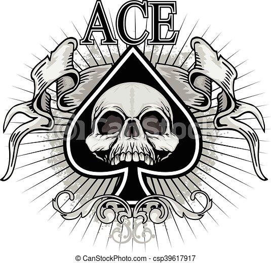 Ace Of Spades Ace Spades Spade Background Poker