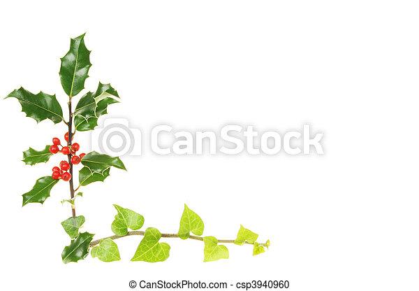 Holly y Ivy - csp3940960
