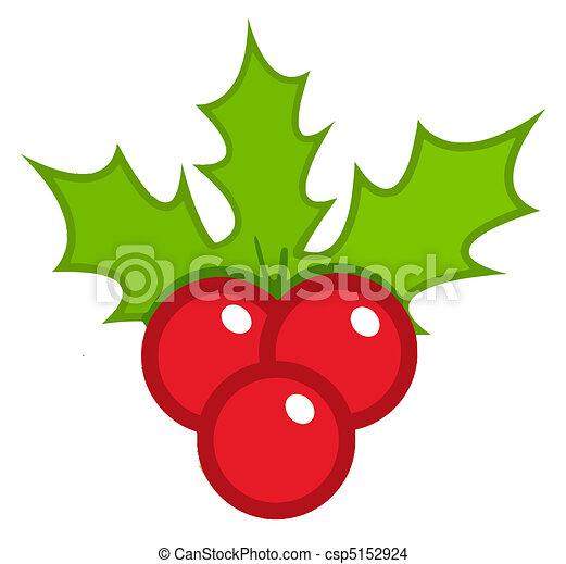 Acebo Navidad Acebo Hojas Bayas Navidad Feliz
