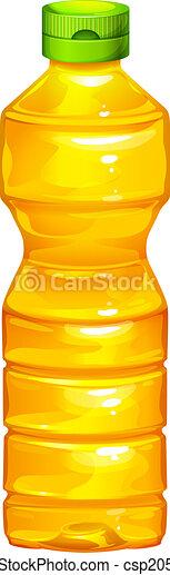 Grficos vectoriales EPS de aceite cocina botella  Illustration