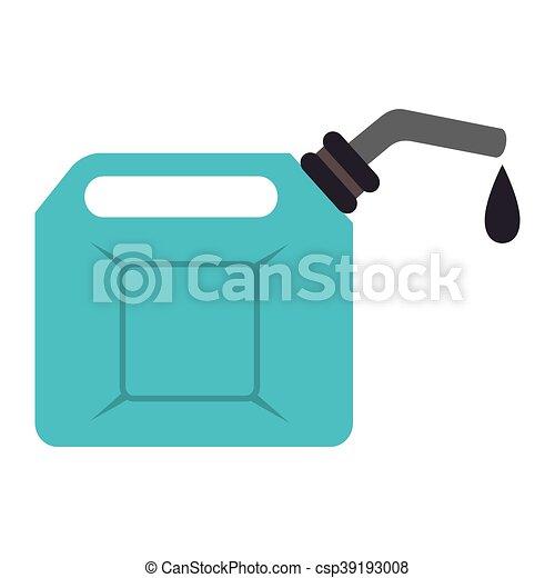El aceite de combustible puede ilustrar el vector de icono - csp39193008
