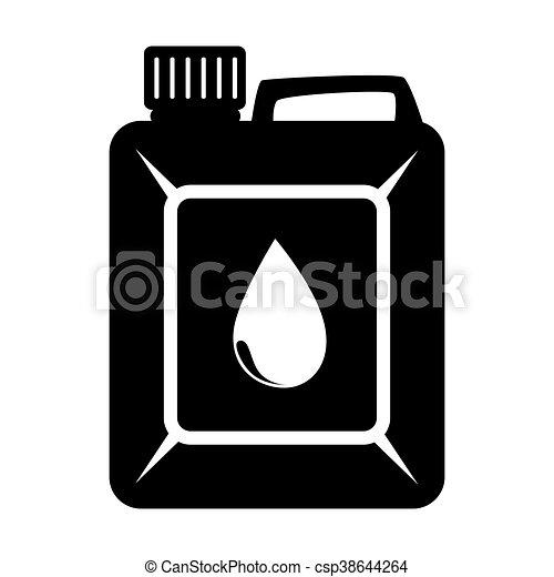 El aceite de motor puede ilustrar vectores de icono - csp38644264