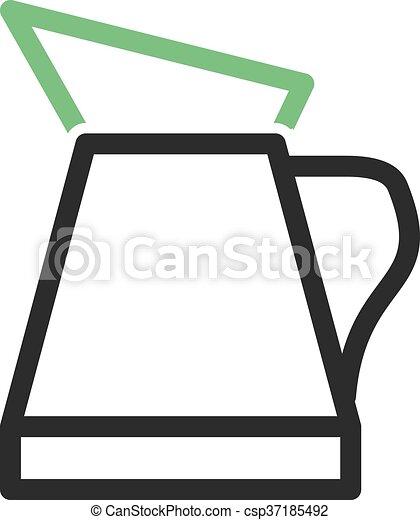 aceite, jarra - csp37185492