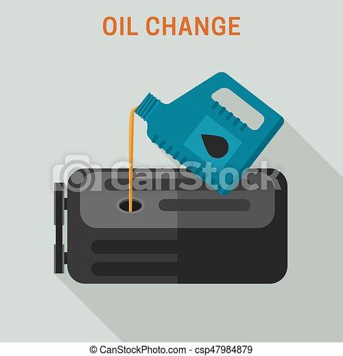 Cambio de aceite de motor - csp47984879