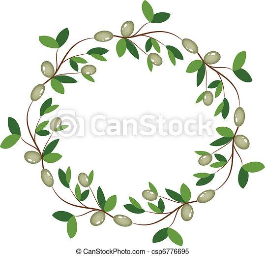 Una corona de oliva - csp6776695