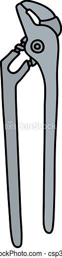 Clásica llave de acero - csp35918015