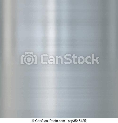 Metal de acero fino - csp3548425