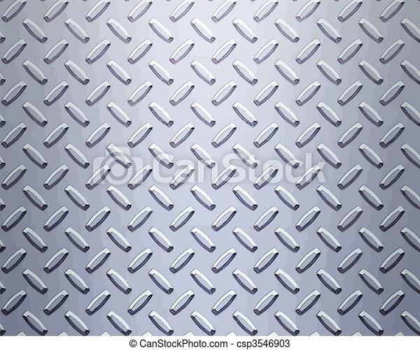 acero, placa, diamante - csp3546903