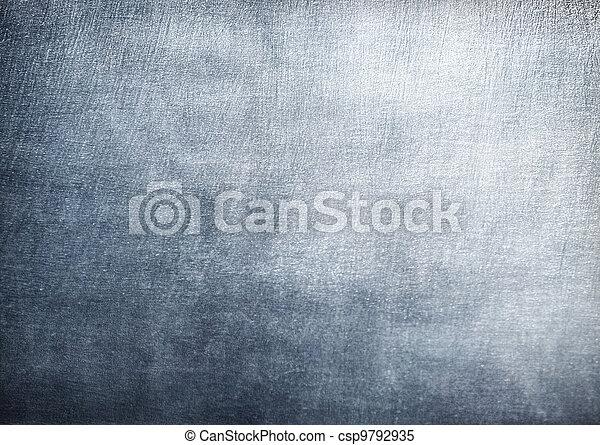 acero, placa, res, metal, textura, fondo., hola - csp9792935
