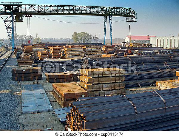 acero, productos, almacenamiento - csp0415174