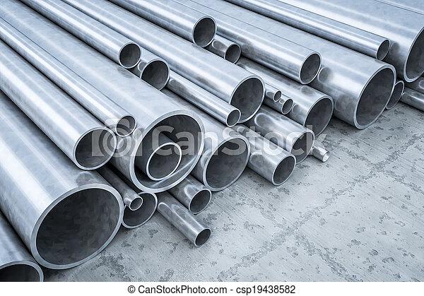 acero, tubos - csp19438582
