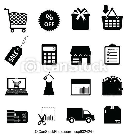 achats, ecommerce - csp9324241